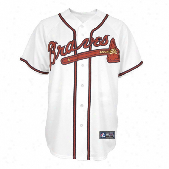 At1anta Braves Home Mlb Replica Jersey