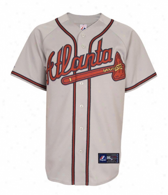 Atlanta Braves Road Mlb Replica Jersey