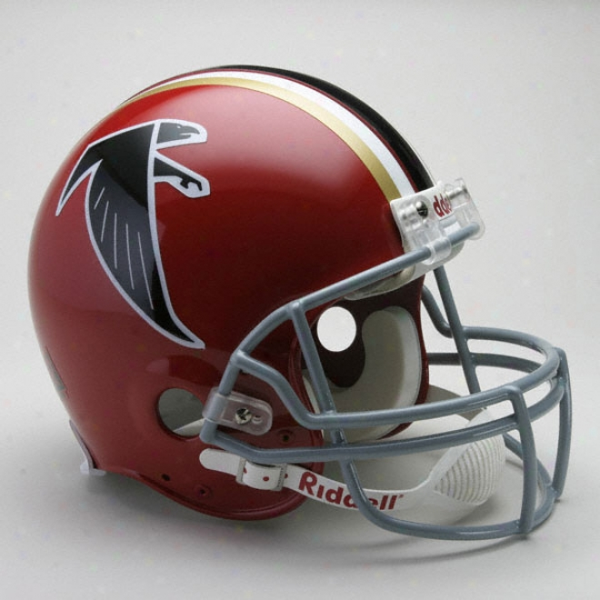 Atlanta Falcons 1966-1969 Authentic Pro Line Riddell Throwback Full Size Helmet