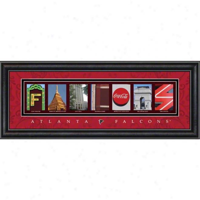 Atlanta Falcons Letter Ar