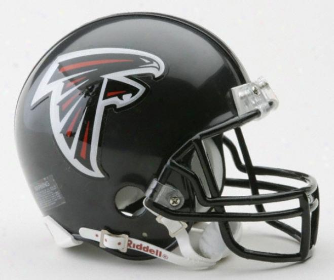 Atlanta Falcons Nfl Riddell Mini Helmet