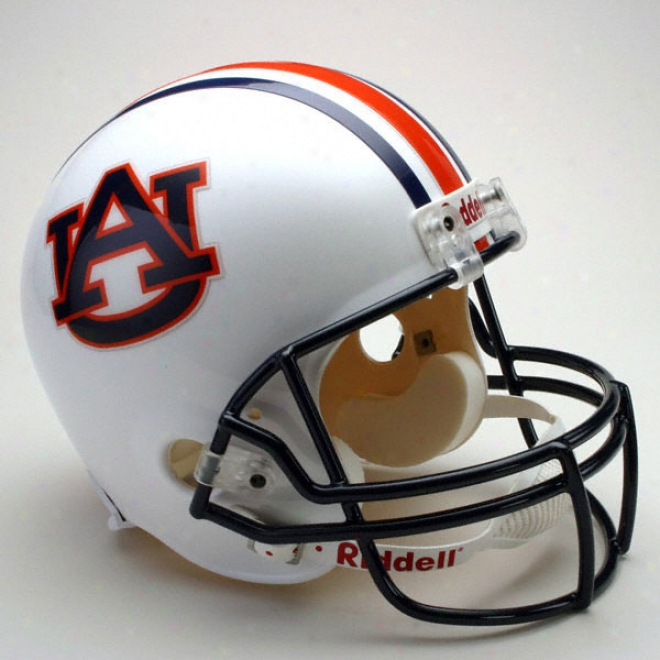 Auburn Tigers Deluxe Replica Riddell Helmet
