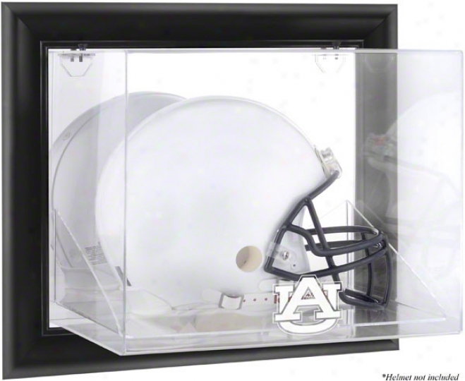Aubu5n Tiers Framed Wall Mountable Logo Helmet Display Case