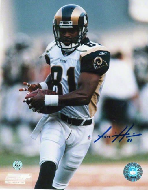 Az Hakim St. Louis Rams Autographed 8x10 Photo