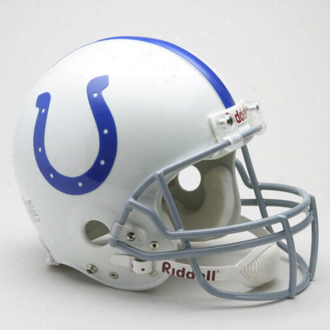 Baltimore Colts 1958-1977 Authentic Pro Line Riddell Throwback Full Size Helmet