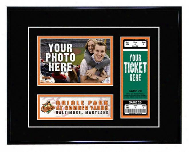 Baltlmore Orioles - Game Day - Ticket Frame
