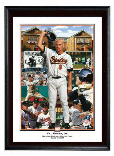 Baltimore Orioles - &quotironman&quot - Wall - Framed Giclee