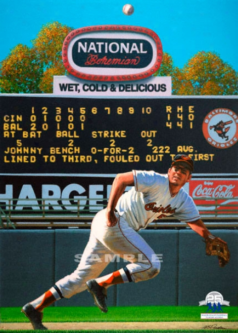Baltimore Orioles - &quottye Human Vacuum&quot - Large - Unframed Giclee