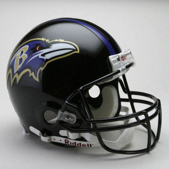 Baltimore Ravens Authentic Pro Line Riddell Full Size Helmet