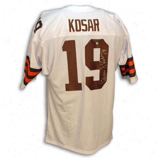 Bernie Kosar Autographed Custom Jersey