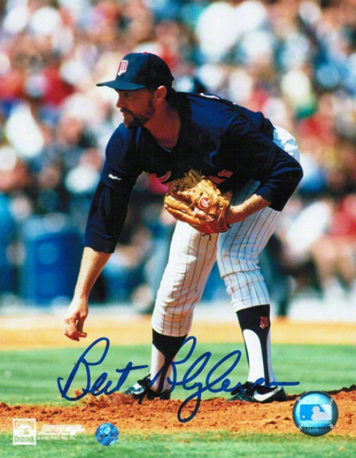 Bert Blyleven Minnesota Twins Autographed 8x10 Photo Follow Through