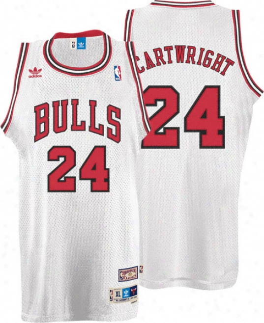 Bill Cartwright Jersey: Adidas Of a ~ color Throwback Swingman #24 Chicago Bulls Jersey
