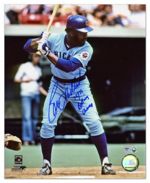 Bill Madlock Autogarphed Photograph  Details: Chicago Cubs, 75/76 Batting Champ Inscription, 8x10
