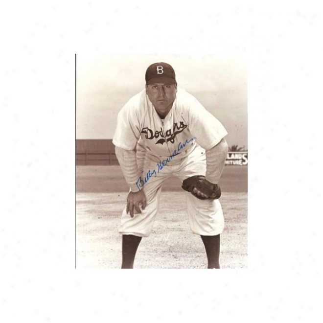 Billy Hoeft Autographed Detroit Tigers 8x10 Photo