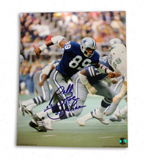 Billy Joe Dupree Dallas Cowboys 8x10 Autographed Photograph