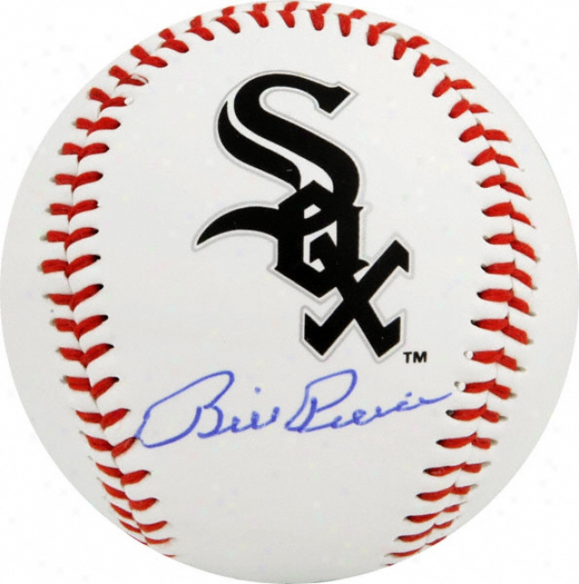 Billy Pierce Autographed Baseball  Details: White Sox Logo