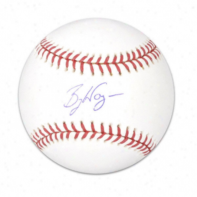 Billy Wagner Autographed Baseball