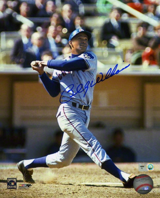 Billy Williams Chicago Cubs Autographed 8x10 Photo