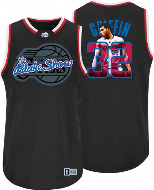 Blake Griffin Los Abgeles Clippers Majestic Notorious Jersey