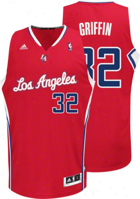 Blake Griffin Red Adidas Revolution 30 Swingman Los Angeles Clippers Jersey
