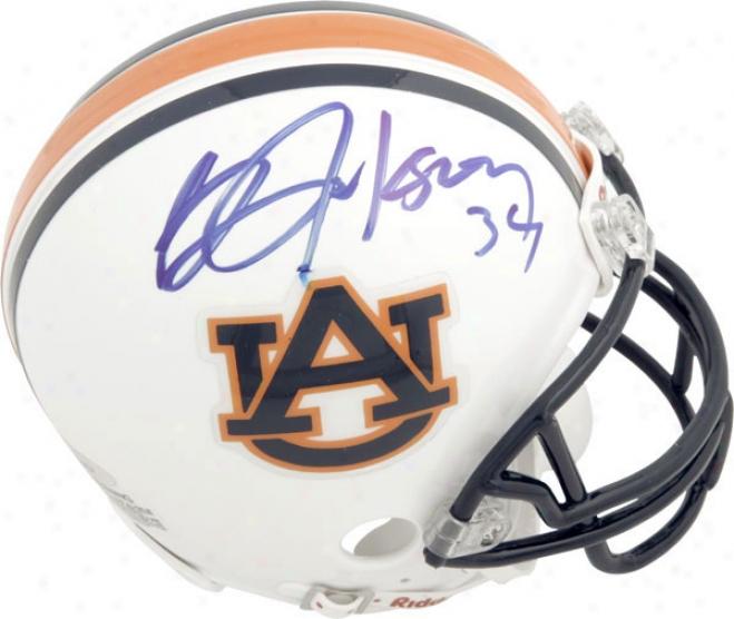 Bo Jackson Auburn Tigers Autographed Mini Helm