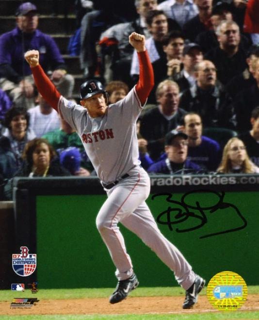 Bob Kielty Boston Red Sox Autographed 8x10 Photograph