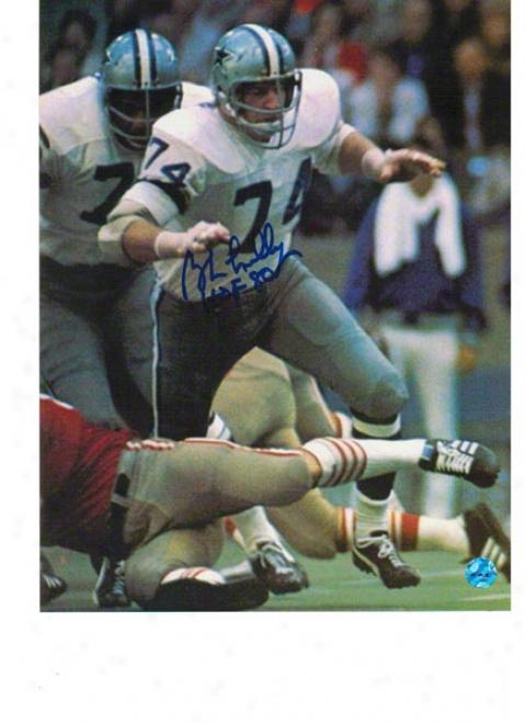 Bob Lilly Dallas Cowboys Autographed 8x10 Photo Vs 49ers