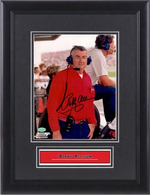 Bobby Allison Autographed 8x10 Photograph