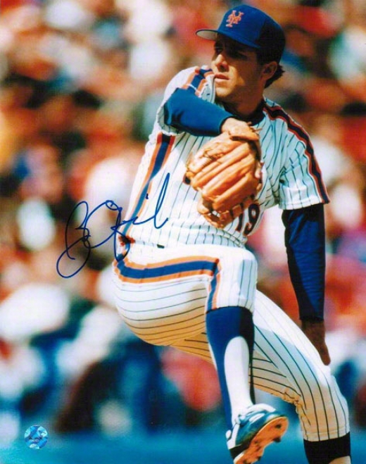 Bobby Ojeda Autographed Just discovered York Mets 8x10 Photo