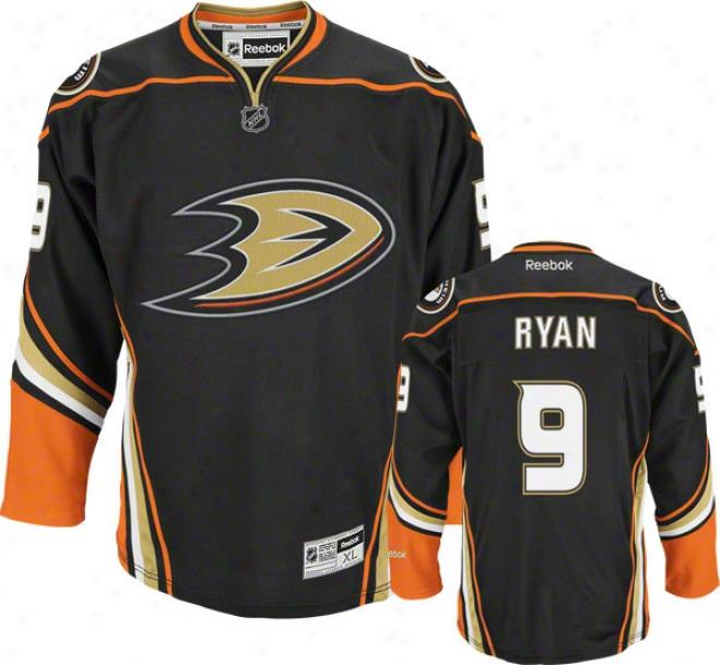 Bobby Ryan Jersey: Reebok Alternate #9 Anaheim Ducks Premier Jersey
