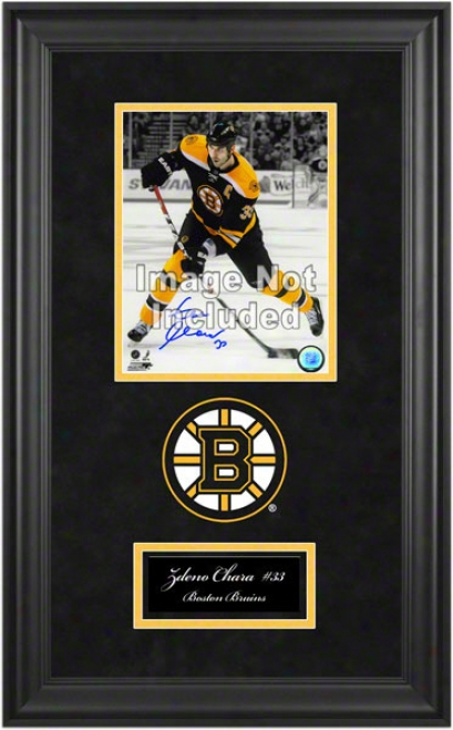 Boston Brjins Deluxe 8x10 Team Logo Frame
