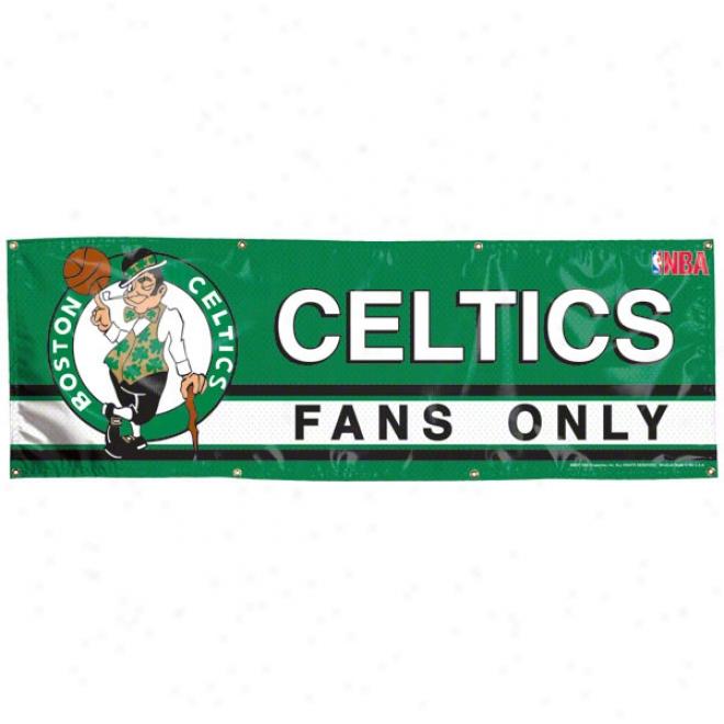 Boston Celtics 2x6 Vinyl Banner