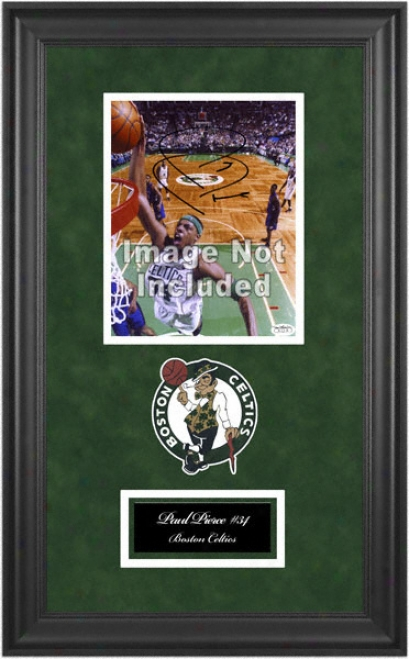 Boston Celtics Deluxe 8x10 TeamL ogo Frame