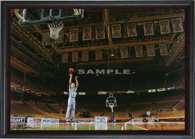 Boston Celtics - &quotmaking Of A Legend&quot - Oversized - Framed Giclee