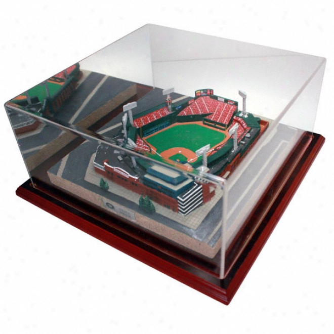 Boston Red Sox Fenway Park Replica With Case - Platinum Series