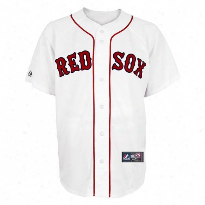 Boston Red Sox Home Mlb Replicw Jersey