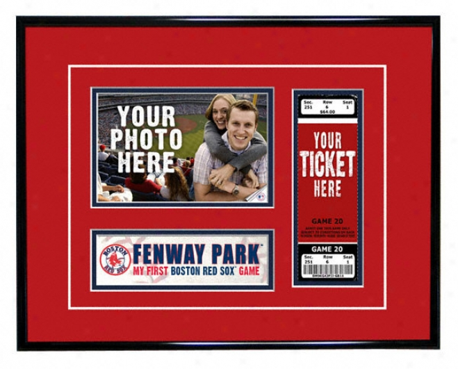 Boston Red Sox - My First Game - Ticket Frame