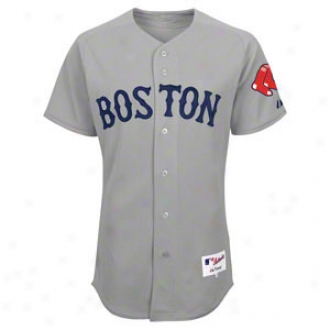 Boston Red Sox -personalized With Your Name- Authentic Road Grey On-field Jersey