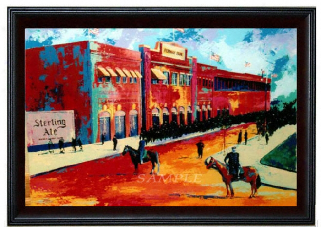 Boston Red Sox - &quotfenway Park&quot - Large - Framed Giclee