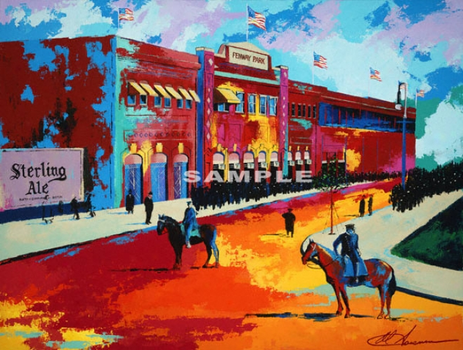 Boston Red Sox - &quotfenway Park&quot - Large - Unframed Giclee
