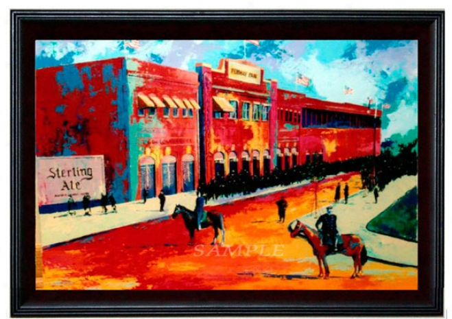 Boston Red Sox - &quotfenway Park&quot - Wall - Framed Giclee