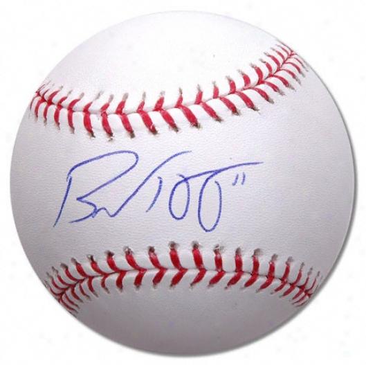 Brad Hawpe Autographed Baseball