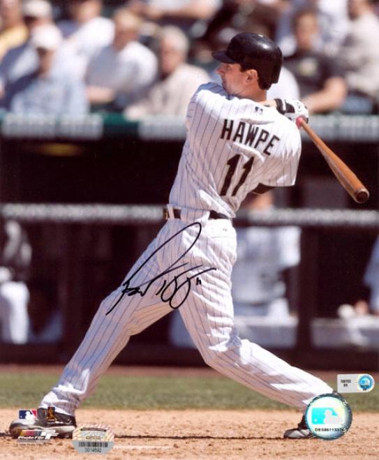 Brad Hawpe Colorado Rockies - Batting - Autographed 8x10 Photograph