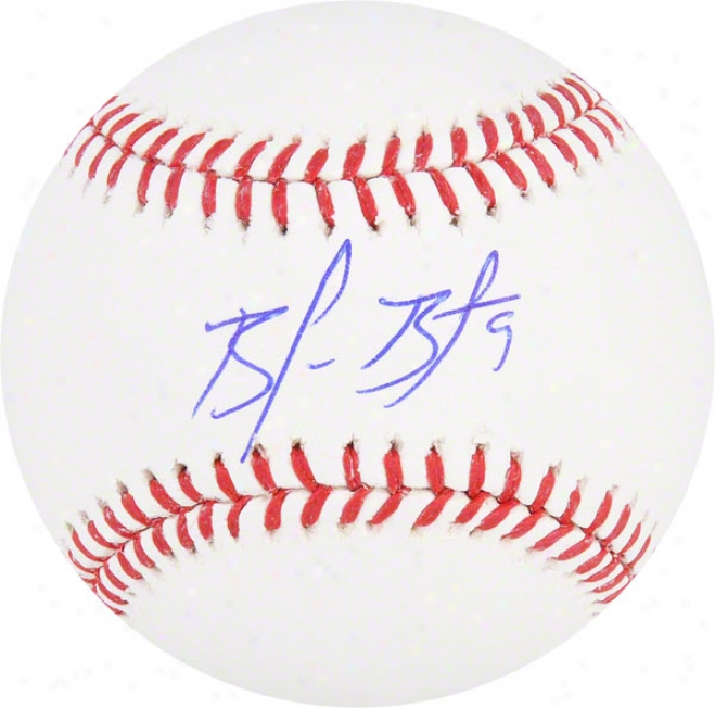 Brandon Belt Autographed Baseball  Details: San Francisco Giants