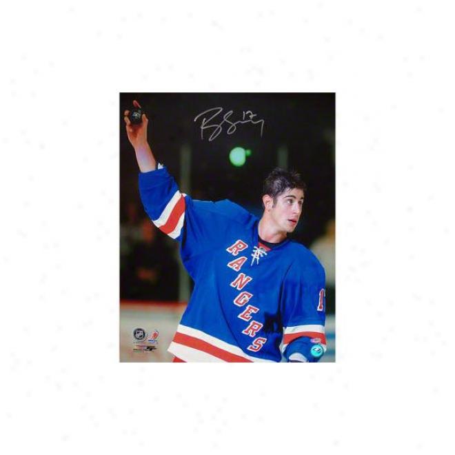 Brandon Dubinsky New York Rangers 16x20 Autographed Photograph