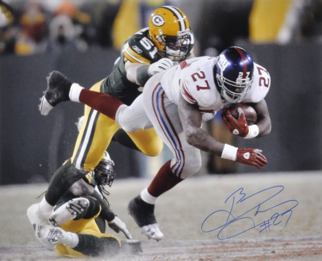 Brandon Jacobs New York Giants Autographed 16x20 Photograph