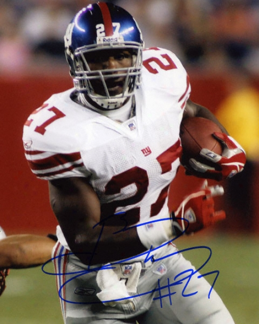 Brandon Jacobs New York Giants Autographed 8x10 Photograph