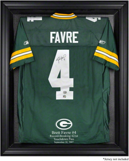 Brett Favre Record-breakr Framed Logo Jersey Display Case