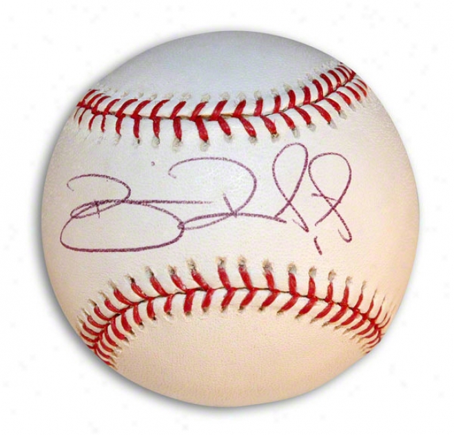 Brian Roberts Autographed Autographed Mlb Baseball