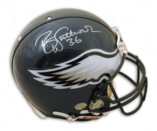 Brian Westbrook Philadelphia Eagles Autographed Proline Helmet